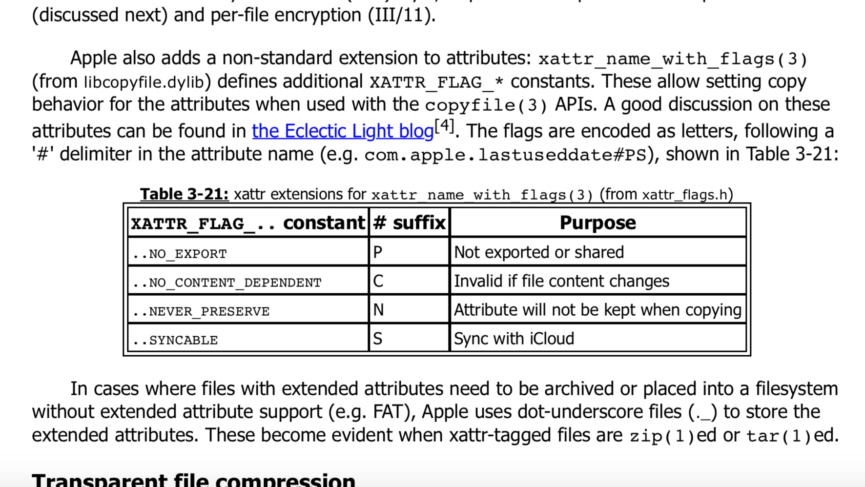 Mac OS and iOS Internals: The Change Log